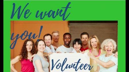 We want you - Volunteer